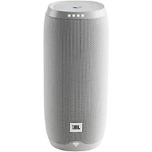 Link 20 Voice-Activated Portable Speaker White