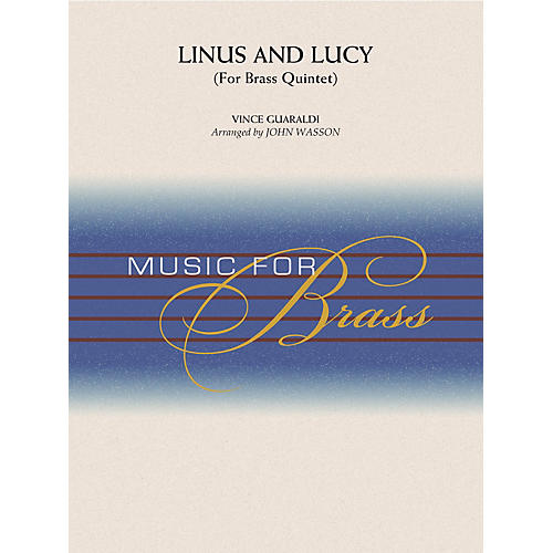 Hal Leonard Linus and Lucy Concert Band Level 3-4 Arranged by John Wasson