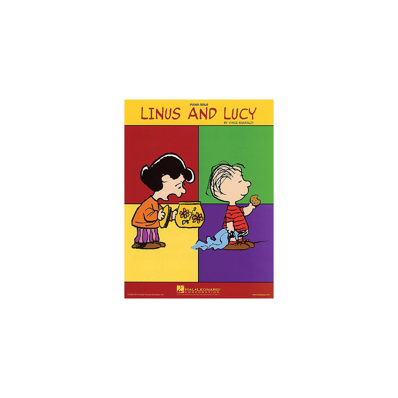 Hal Leonard Linus and Lucy arranged for Piano Solo