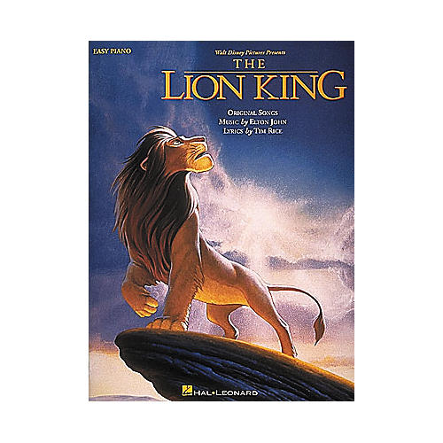 Hal Leonard Lion King For Easy Piano
