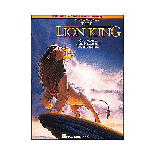 Hal Leonard Lion King, The Beginning Piano Solos Late Elementary