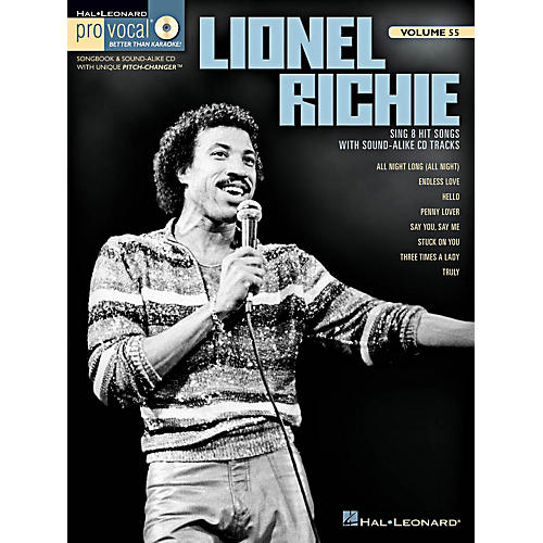 Hal Leonard Lionel Richie - Pro Vocal Men's Edition Volume 55 Book/CD