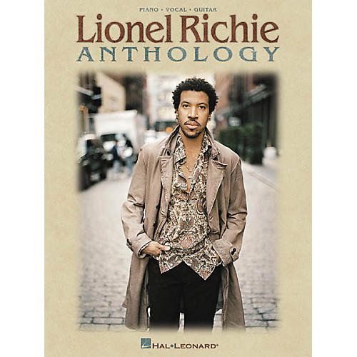 Hal Leonard Lionel Richie Anthology Piano, Vocal, Guitar Songbook