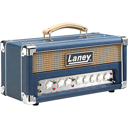 Laney Lionheart L5-Studio 5W Tube Guitar Amp Head Blue