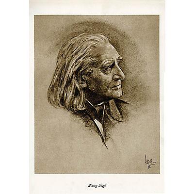 Music Sales Liszt (Lupas Large Portrait Poster) Music Sales America Series
