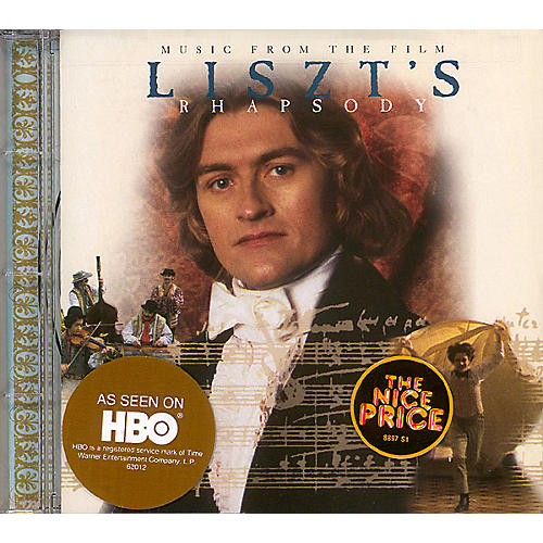 Devine Entertainment Liszt's Rhapsody CD Composed by Franz Liszt