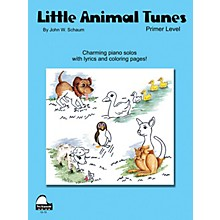 SCHAUM Little Animal Tunes (Primer Level) Educational Piano Series Softcover Composed by John W. Schaum