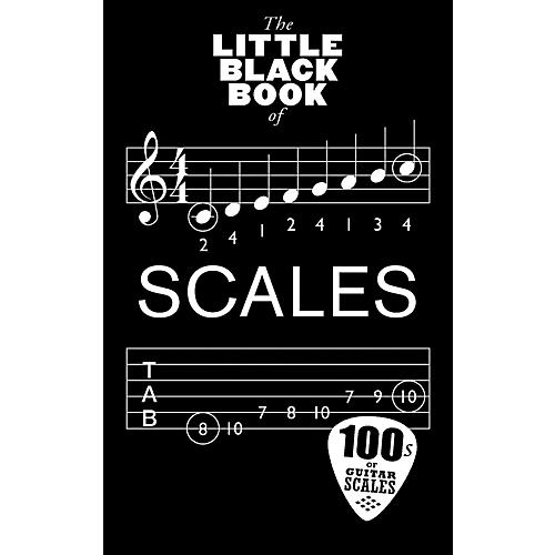Music Sales Little Black Book Of Scales - Guitar