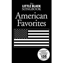 Music Sales Little Black Songbook of American Favorites The Little Black Songbook Series Softcover