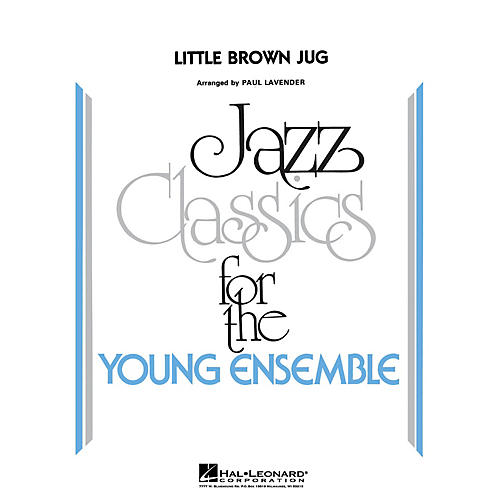 Hal Leonard Little Brown Jug Jazz Band Level 3 Arranged by Paul Lavender