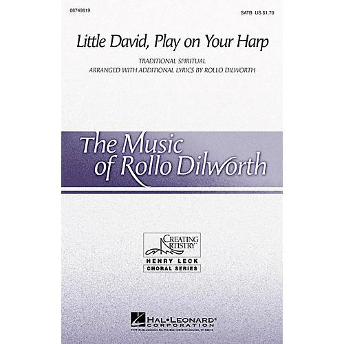 Hal Leonard Little David, Play on Your Harp SATB arranged by Rollo Dilworth