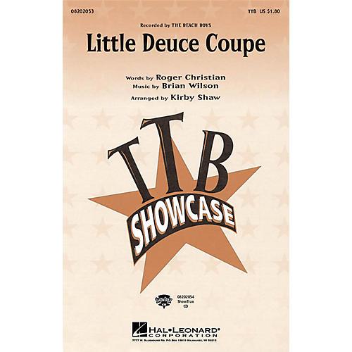 Hal Leonard Little Deuce Coupe TTB by The Beach Boys arranged by Kirby Shaw