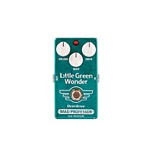 Mad Professor Little Green Wonder Overdrive Guitar Effects Pedal