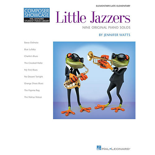 Hal Leonard Little Jazzers - Nine Original Piano Solos Piano Library Series Book by Jennifer Watts (Level Elem)