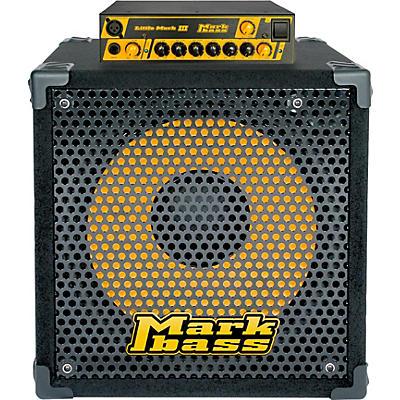 Markbass Little Mark III and New York 151 Bass Stack