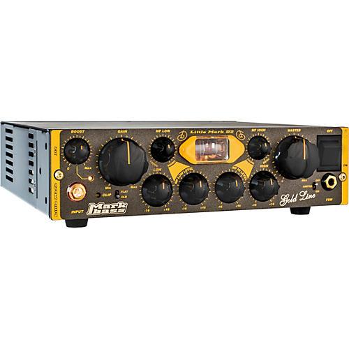 Markbass Little Mark Vintage D2 500W Tube Hybrid Bass Amp Head Black
