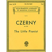G. Schirmer Little Pianist Op 823 Piano Complete By Czerny