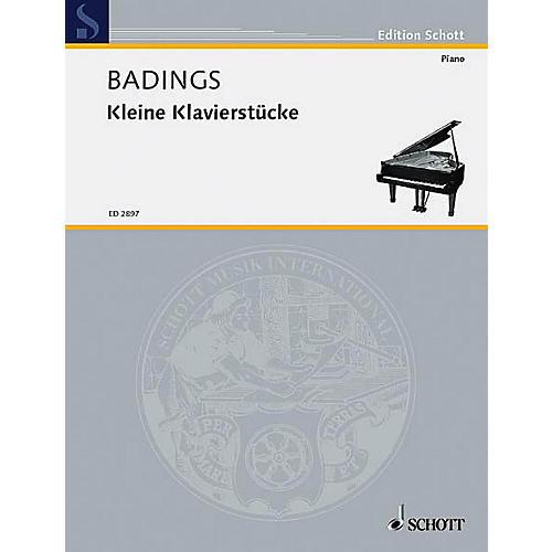 Schott Little Piano Piece Schott Series