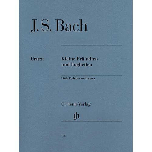 G. Henle Verlag Little Preludes and Fughettas Henle Music Folios Series Softcover