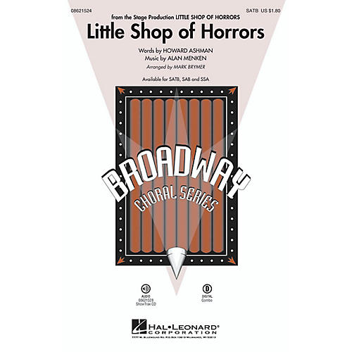 Hal Leonard Little Shop of Horrors SATB arranged by Mark Brymer