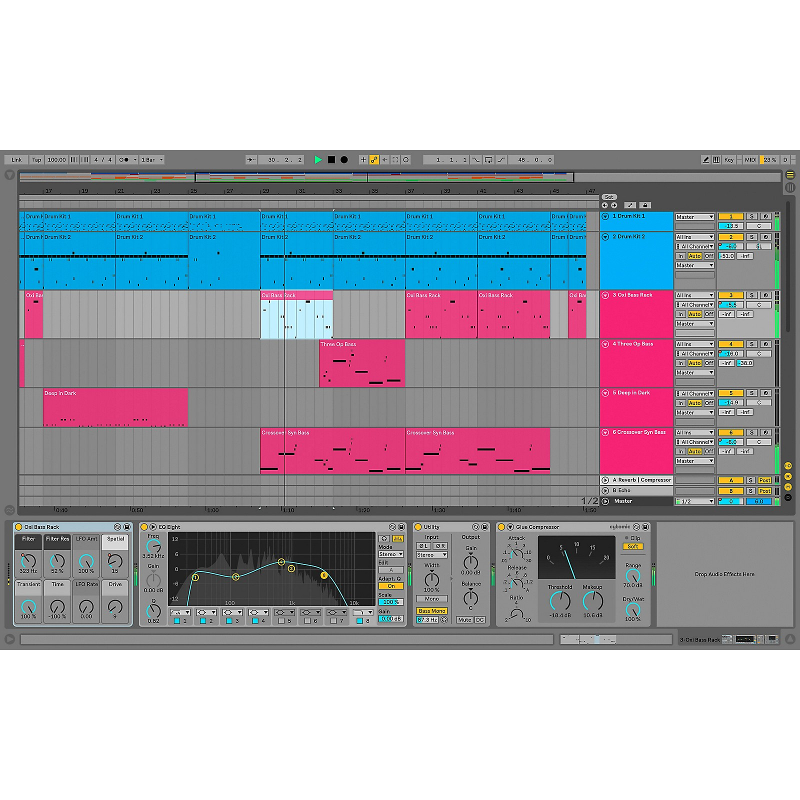 Ableton Live 10 Standard Upgrade From Live 1-9 Standard (Software Download)