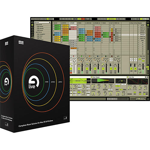 Ableton Live 5 Realtime Music Production Software