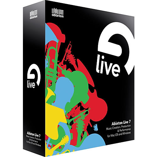 Ableton Live 7 Upgrade from Live 1-5