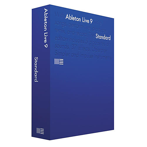 Ableton Live 9.7 Standard Upgrade from Standard 1-8 Software Download