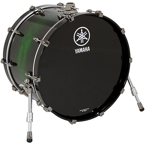 Yamaha Live Custom Bass Drum 18 x 14 in. Emerald Shadow Sunburst