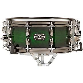 open box yamaha live custom snare drum 14 x 5 5 in emerald shadow sunburst 190839439857. Black Bedroom Furniture Sets. Home Design Ideas
