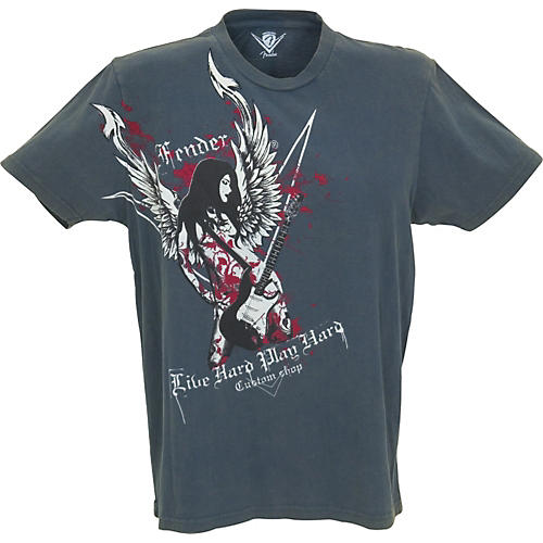 Fender Live Hard T-Shirt