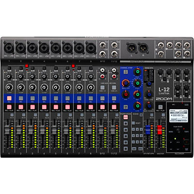 Zoom LiveTrak L-12 12-Channel Digital Mixer