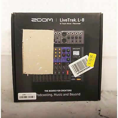 Zoom LiveTrak L8 Unpowered Mixer