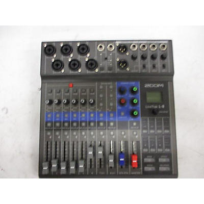 Zoom Livetrak-8 Powered Mixer