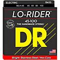 DR Strings Lo Rider MLH-45 Medium Lite Stainless Steel 4-String Bass Strings thumbnail