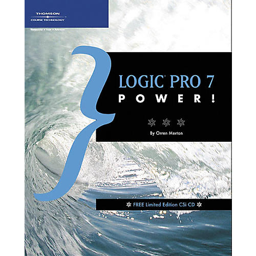 Course Technology PTR Logic Pro 7 Power! Book