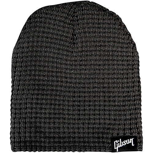Gibson Logo Beanie, Charcoal One Size Fits All