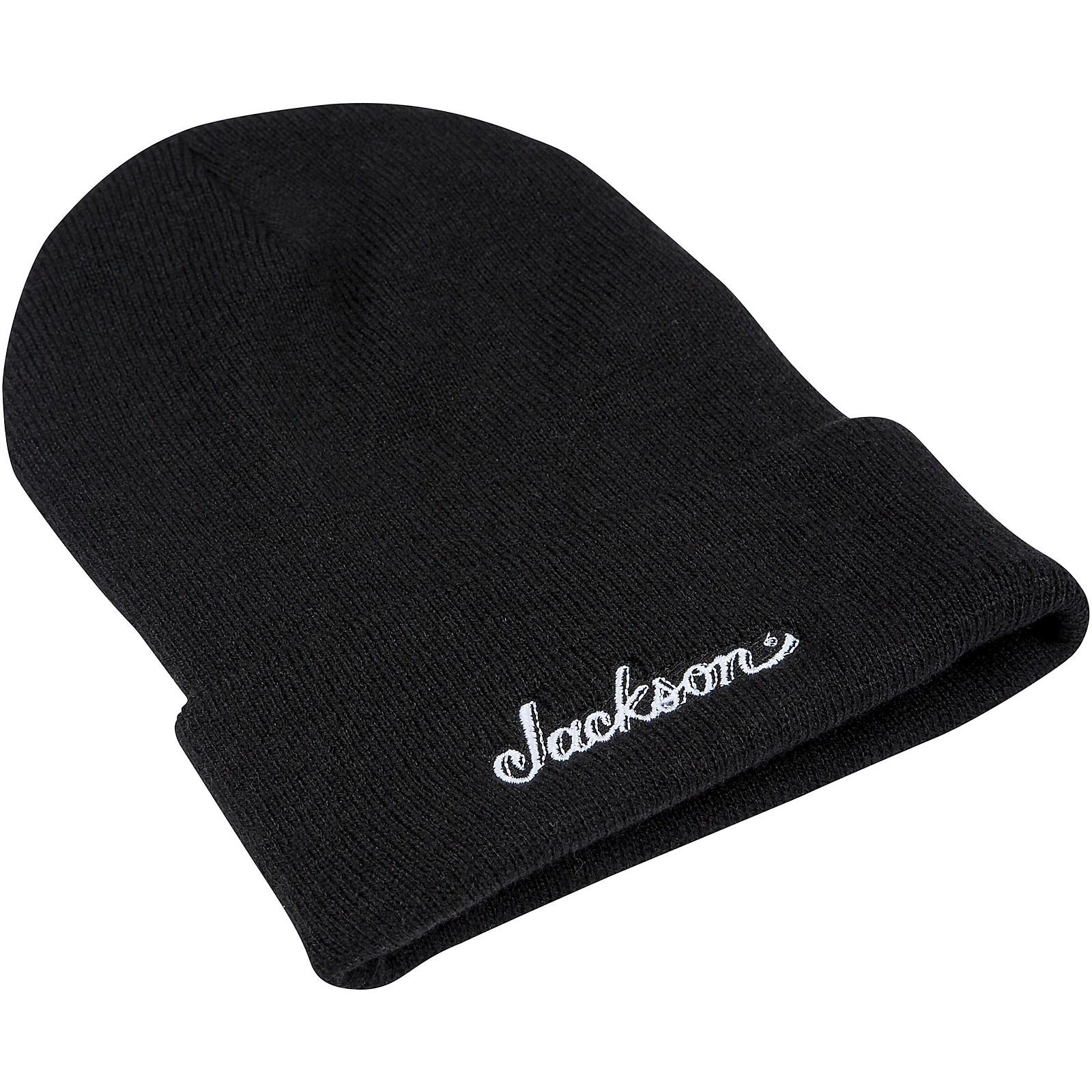 Jackson Logo Black Beanie