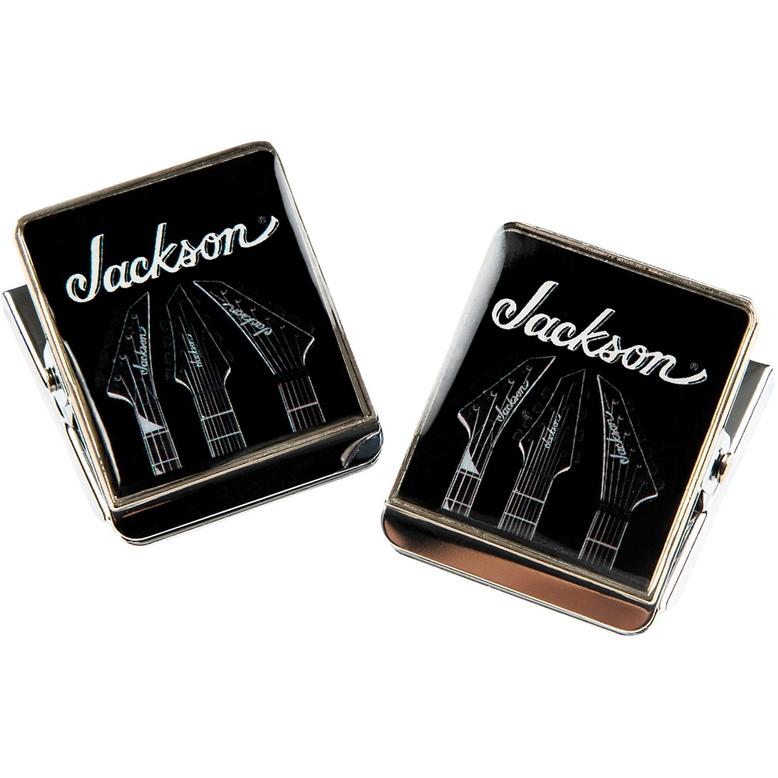 Jackson Logo Clip Magnets (Pair)