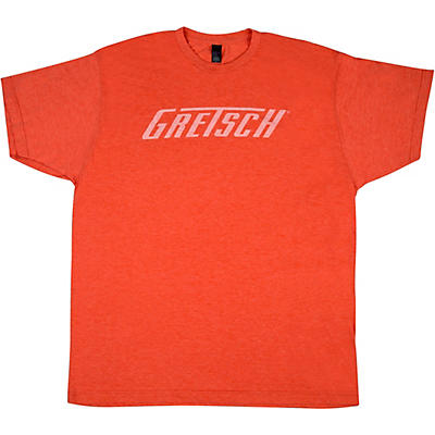 Gretsch Logo Heather Orange T-Shirt