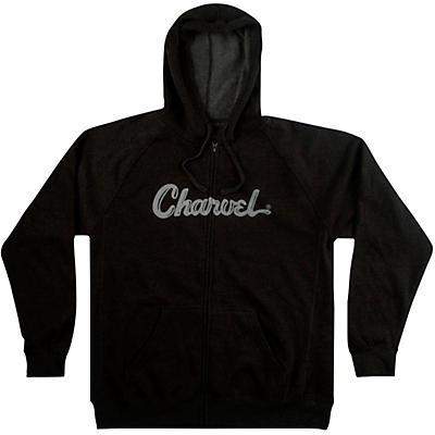 Charvel Logo Hoodie - Charcoal