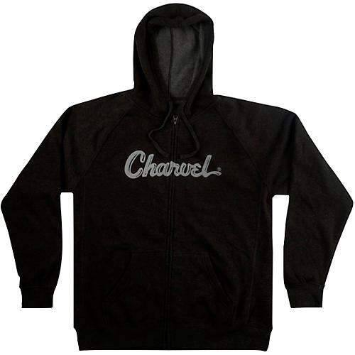 Charvel Logo Hoodie - Charcoal Medium