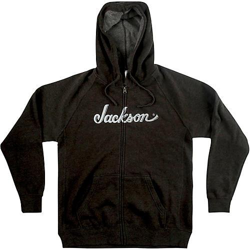 Jackson Logo Hoodie - Gray Large
