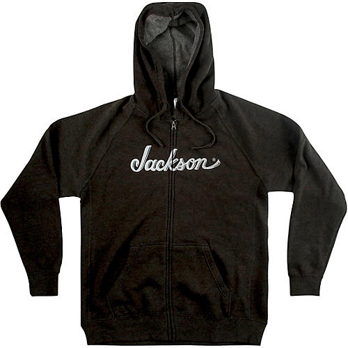 Jackson Logo Hoodie - Gray Medium