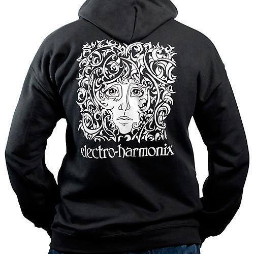 Electro-Harmonix Logo Hoodie, Black Large