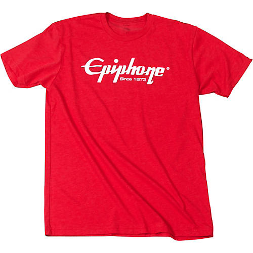 Epiphone Logo T-Shirt Medium Red