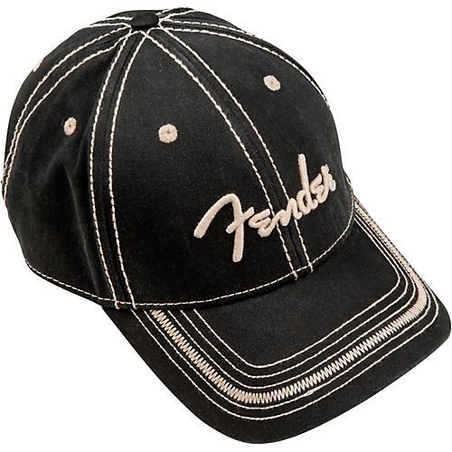 Fender Logo Topstitch Cap, One Size