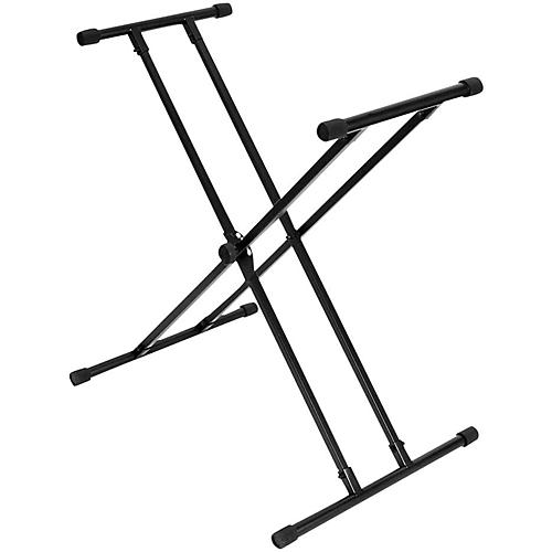 On-Stage Lok Tight Classic Double X Keyboard Stand