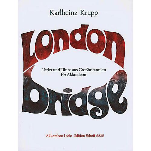 Schott London Bridge Accordion Solo Schott Series