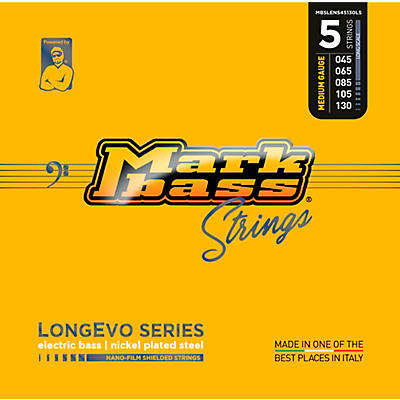 Markbass Longevo Series Nano Film Electric Bass Nickel Plated Steel 5 Strings